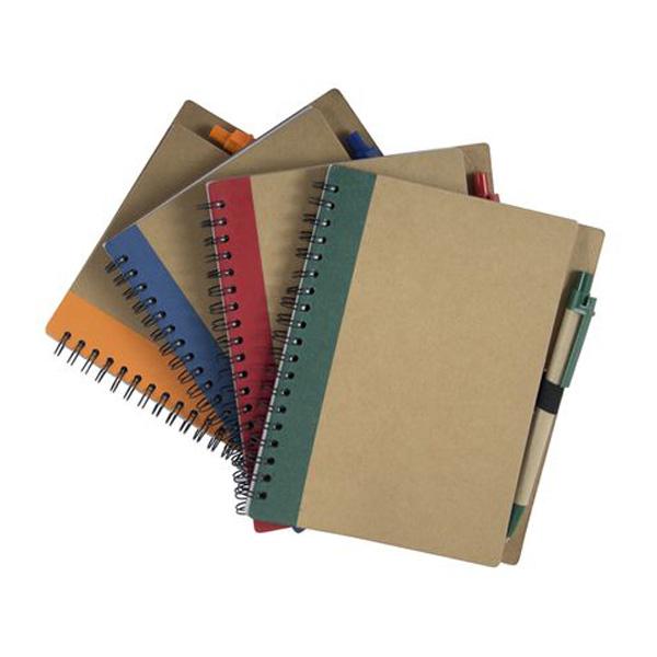 еко бележници различни цветове