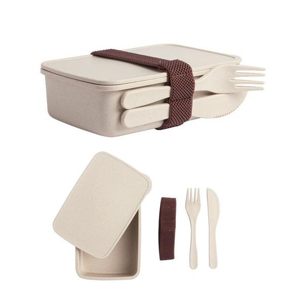 кутия за обяд от бамбук