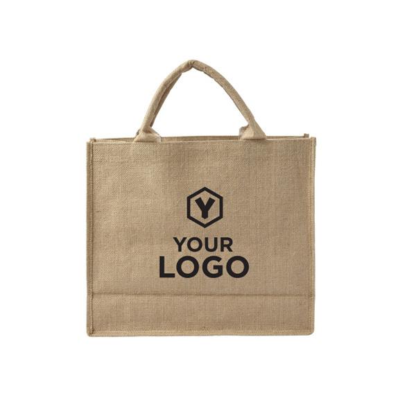 чанта за пазар от юта материал
